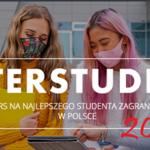 Interstudent 2021 – konkurs na najlepszego studenta zagranicznego w Polsce