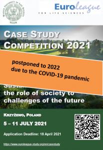Case Study Competition 2021 przełożone na 2022 rok!