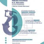 Nagroda Prezydenta za prace dyplomowe z zakresu rozwoju Warszawy