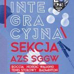 Integracyjny sport na SGGW!